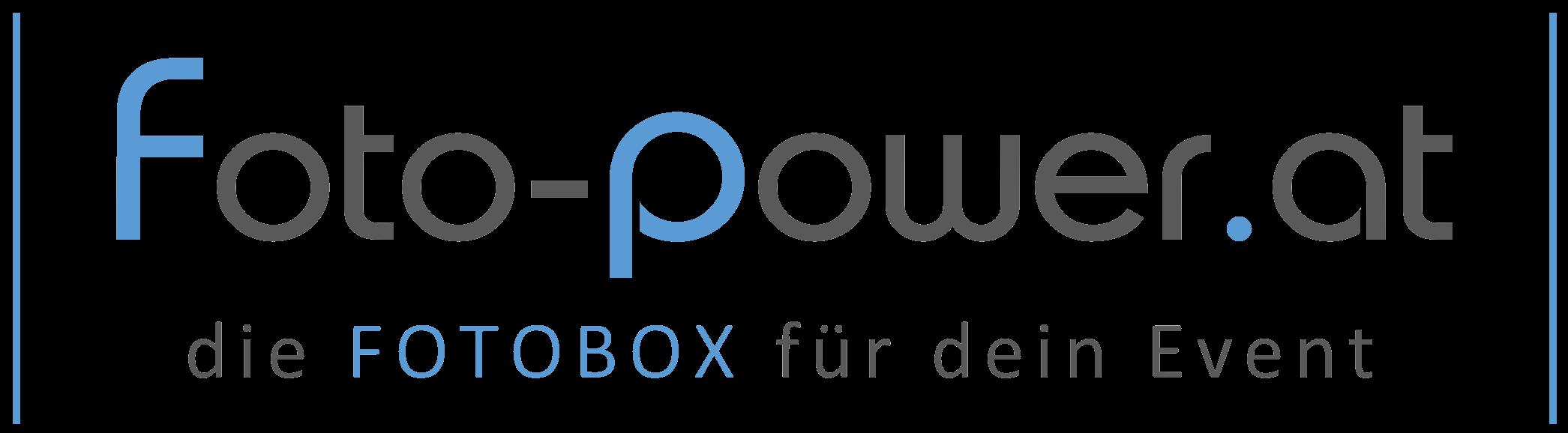 Foto-Power LOGO (die Fotobox für dein Event)